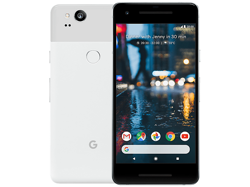Google Pixel 2 128GB White contracts
