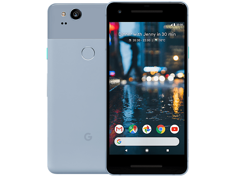 Google Pixel 2 Blue Contracts