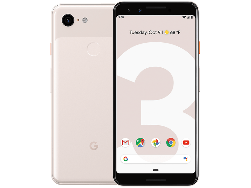 Google Pixel 3 Not Pink contracts