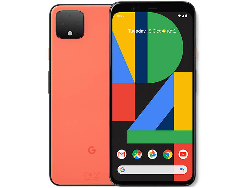Google Pixel 4 Orange contracts