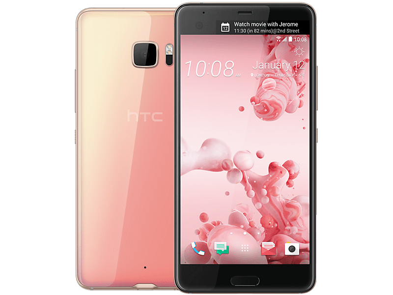 HTC U Ultra Pink Contracts
