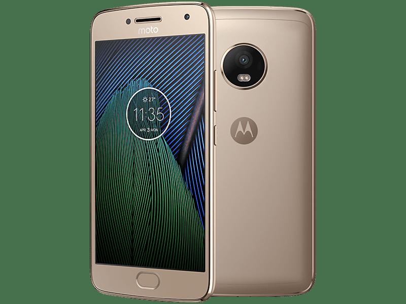 Motorola Moto G5 Plus Gold Upgrade