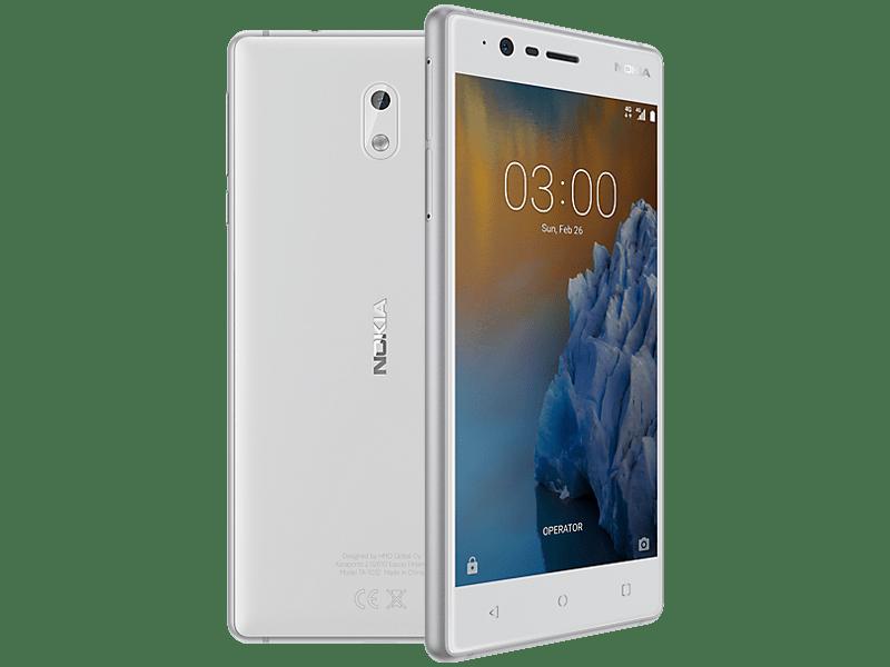 Nokia 3 Silver Upgrade