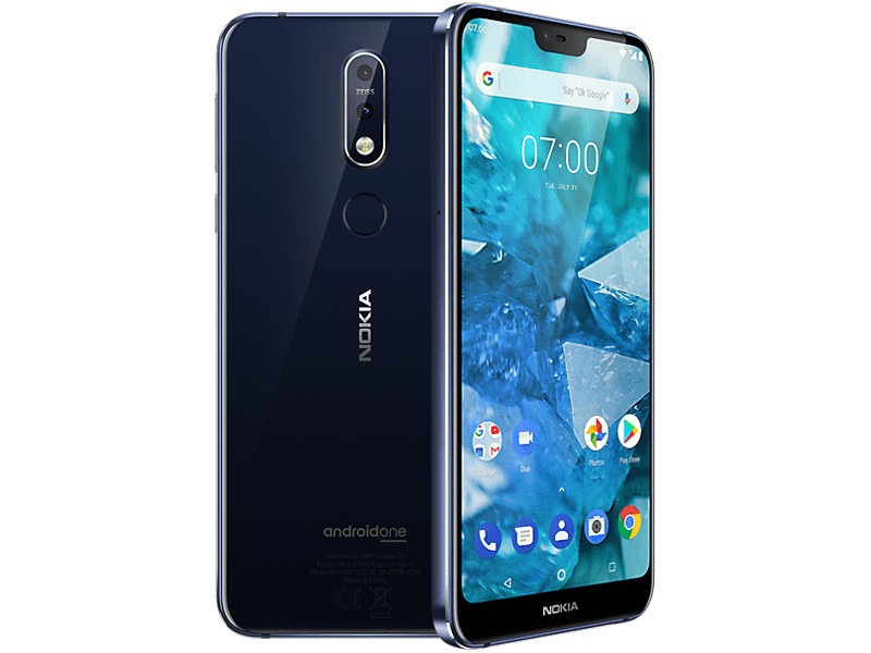Nokia 7.1 Blue sim free
