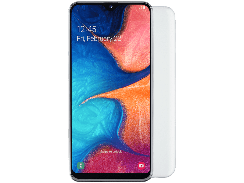Samsung Galaxy A20e White payg