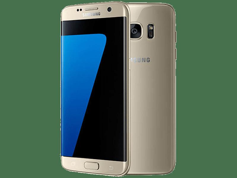 Samsung Galaxy S7 edge Gold upgrade