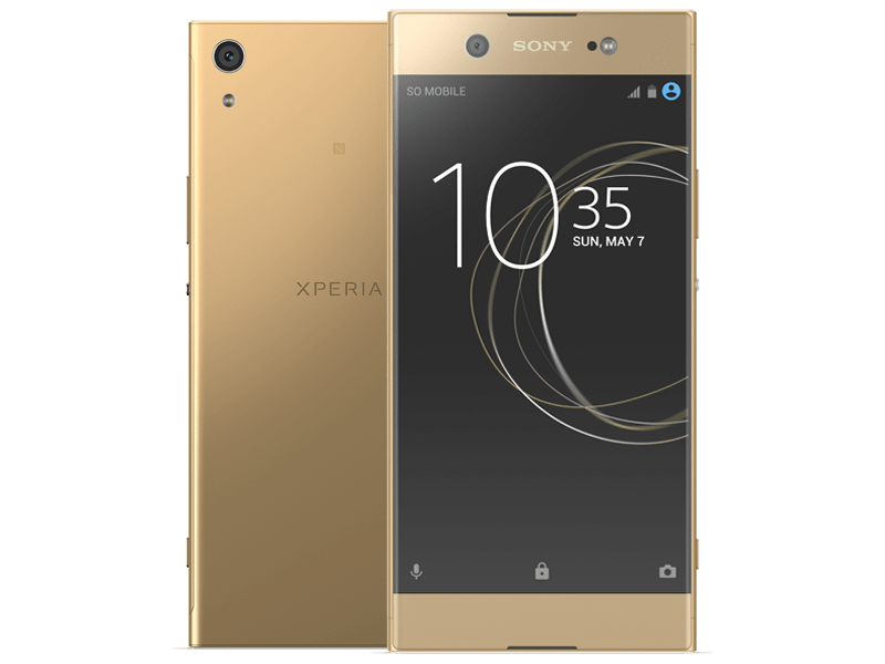 Sony Xperia XA1 Ultra Gold Contracts