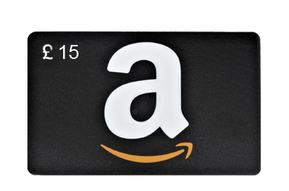 Amazon £15 Vouchers