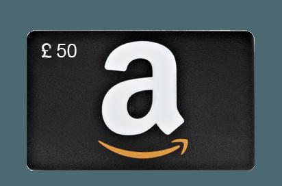 Amazon £50 Vouchers