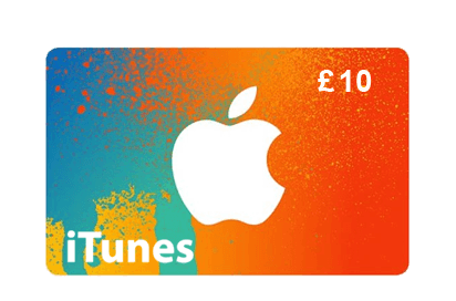 Apple iTune £10 Vouchers